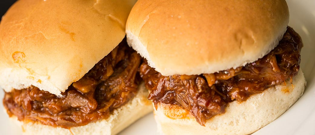 BBQ Pulled Beef Sandwiches
