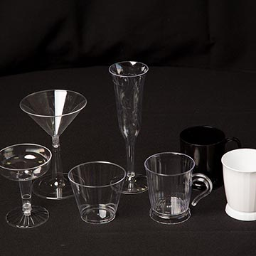 Your Choice of Plastic Glasses
