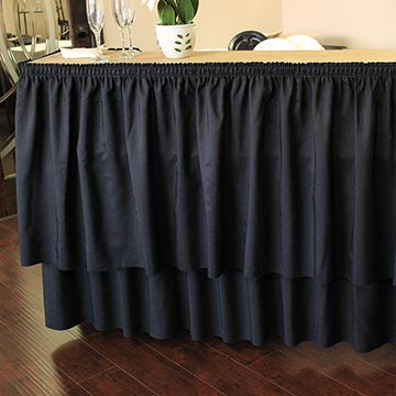 Bar with Black Drape