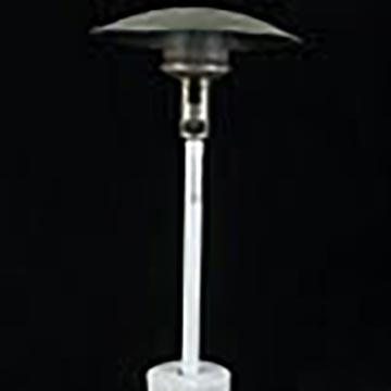 Patio heaters incl. propane