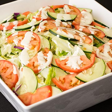 Green Salad with Ranch