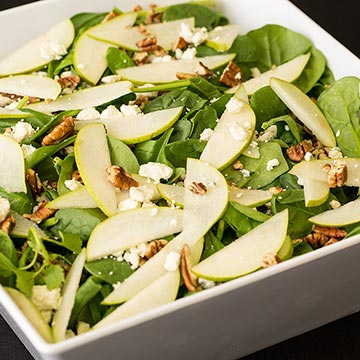 Spinach and Pear Slaw