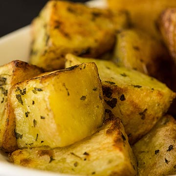 Roasted Yukon Potatoes